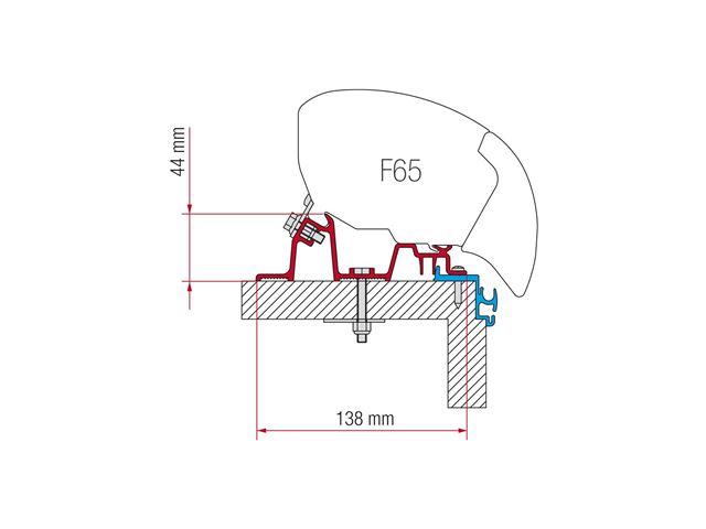 Adapter til Fiamma F80 | F65