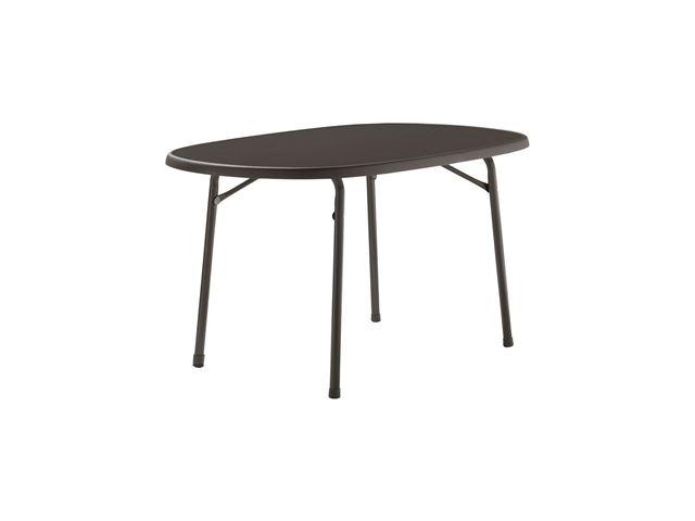 Sieger ovalt campingbord – 90x140 cm