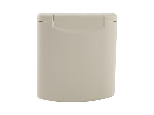 Strømindtag CEE 17 3-pol hvidt