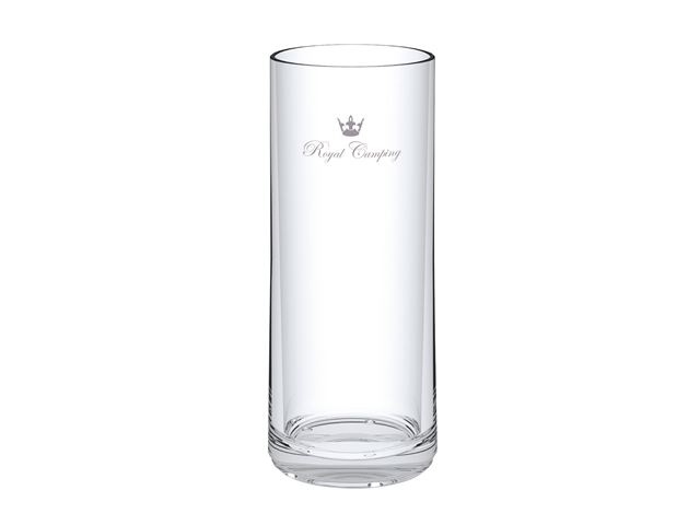 """Glas """"Royal Camping"""""""