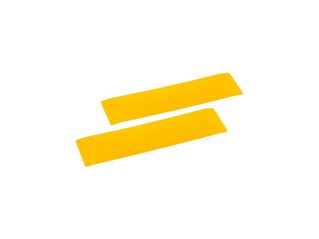 Selvklæbende refleks gul 2 stk