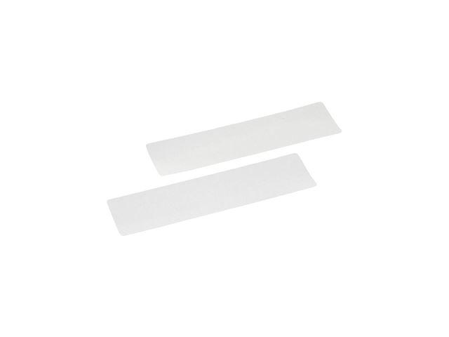 Selvklæbende refleks hvid 2 st