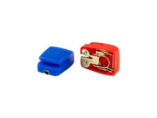 Batteriklemmer med patentluk
