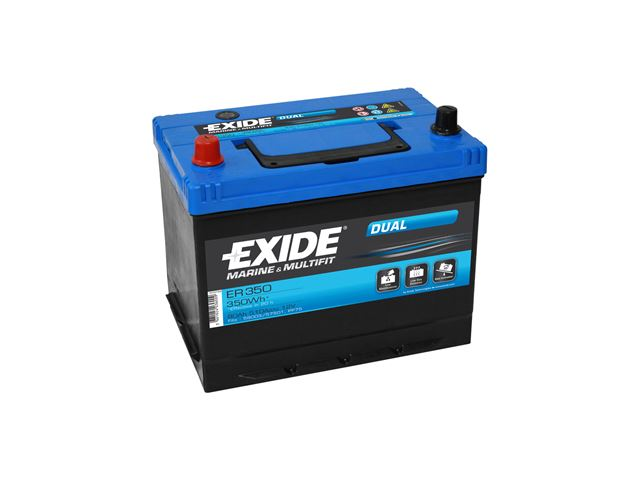 Kabe Batteri Exide Dual 80 A