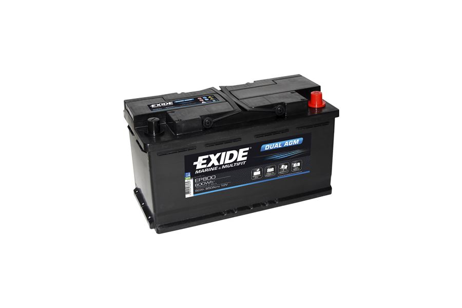 "Batteri ""Exide Dual-AGM"" 92A"