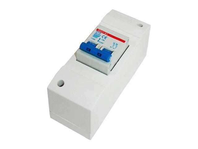 Automatsikring 230 V 10 Amp.