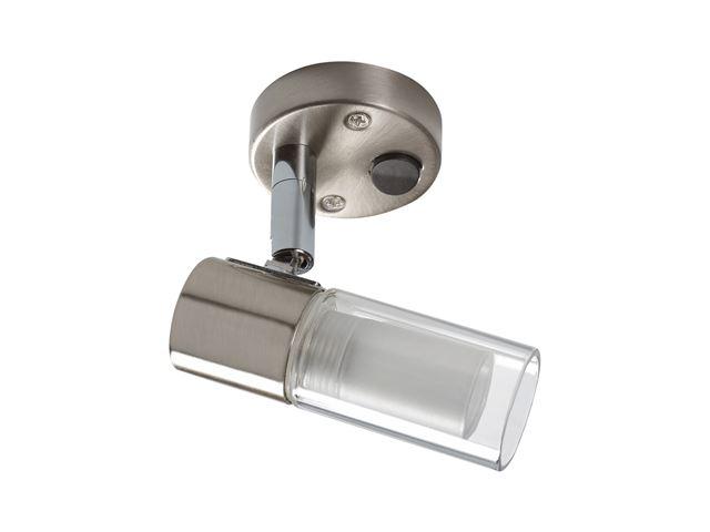 """Spotlampe """"Nitro""""med LED og kontakt"""