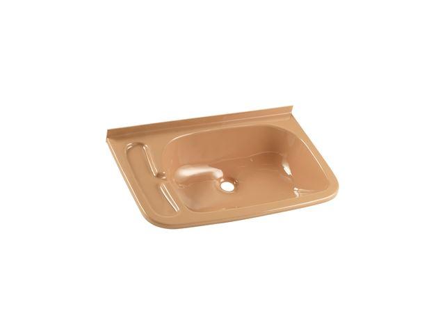 Håndvask 465x290 mm beige