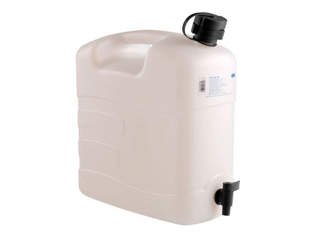 Vanddunk 20 L med hældetud og aftapningshane