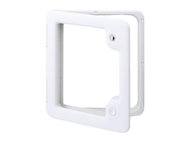 Indb.klap model 3 hvid