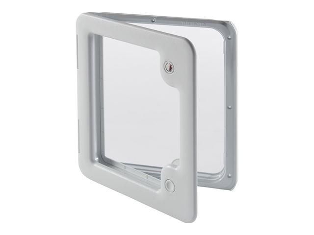 Indb.klap model 3 grå