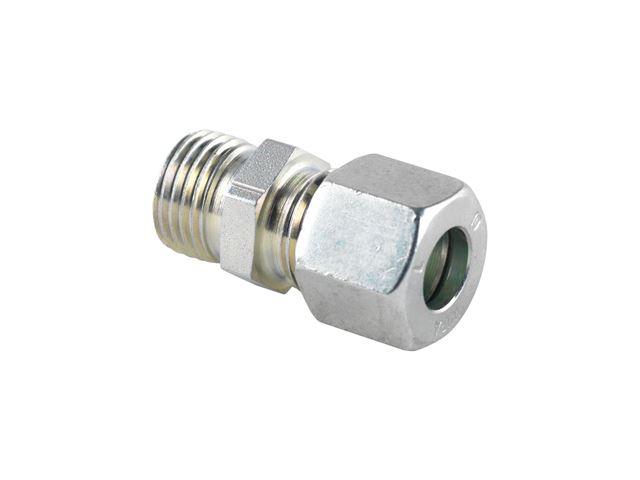 Union til gasstuds 8 mm.