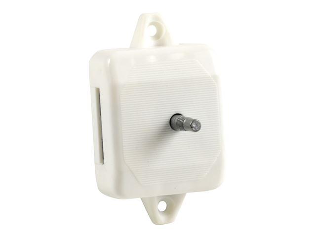 Lås 1-punkt til toiletdør hvid