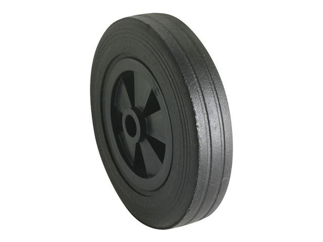Hjul med plastfælg 200x50 mm