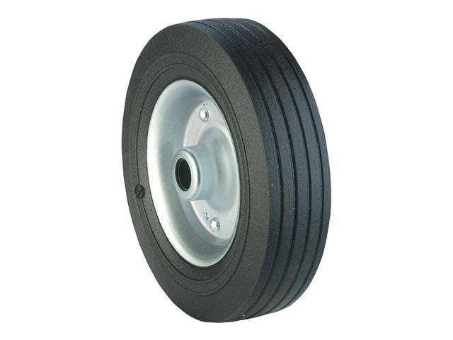 Hjul med metalfælg 200x50 mm