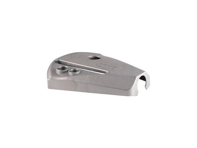 Dækplade (kort model) sølvgrå