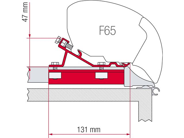 Monteringskit universal f65