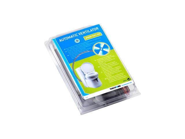 Ventilator til udluftning af affaldstank
