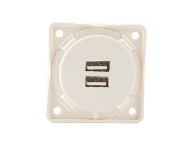 Stikdåse USB Berker 220V