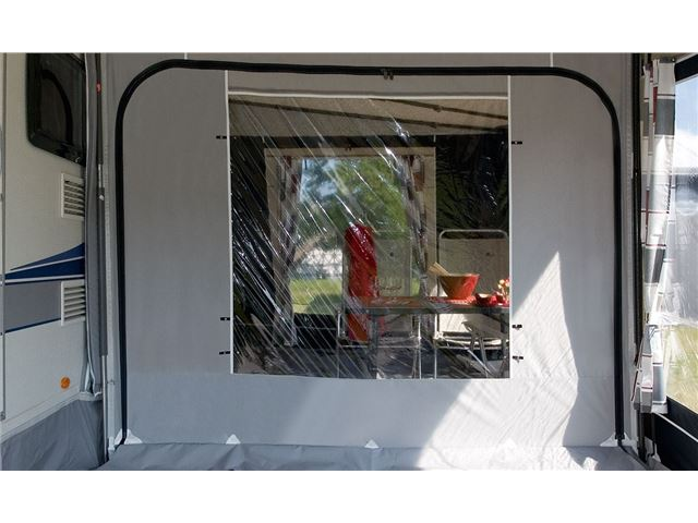 Rumdeler med vinduespanel 2,5 m