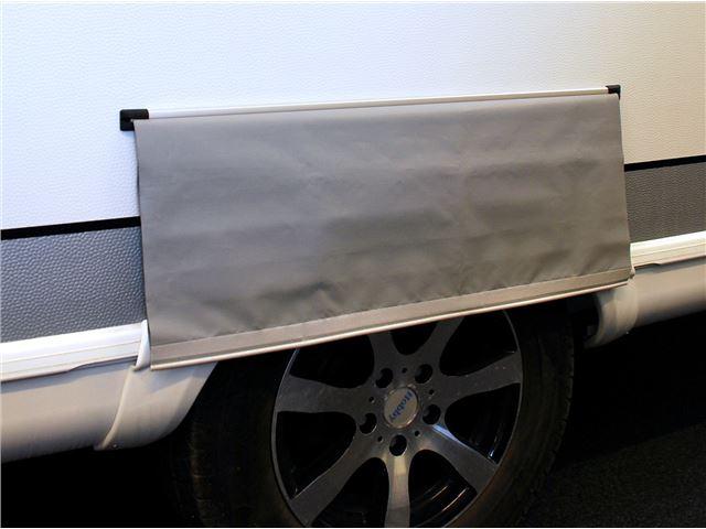 Hjulafdækning Enkelt grå H:26 cm