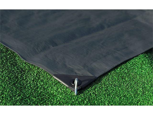 Isabella presenning, 320 x 800 cm, mørkegrå