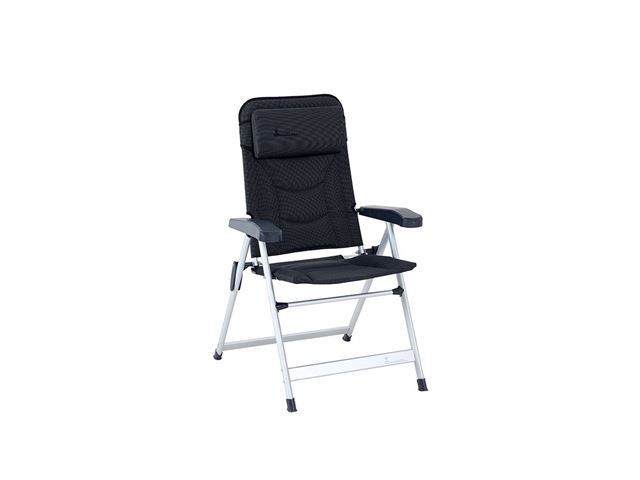 Isabella Loke stol med lav ryg, Mørkegrå
