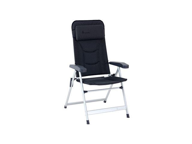 Isabella Loke stol med høj ryg, Mørkegrå