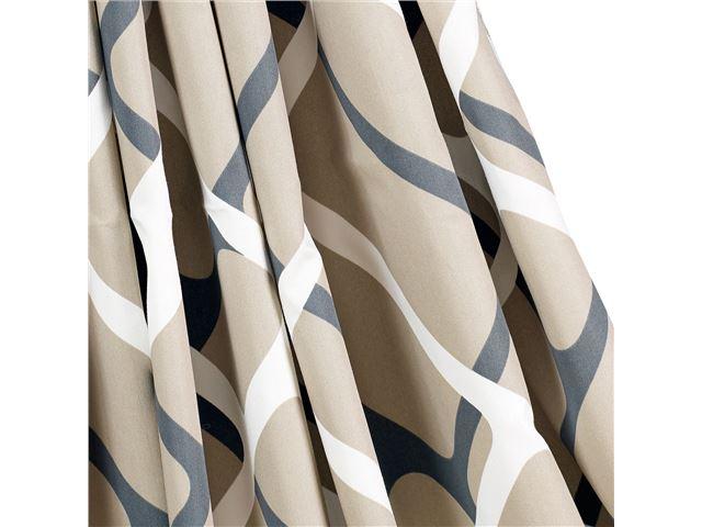 Gardinsæt Isabella standard Collage Sand 6 stk