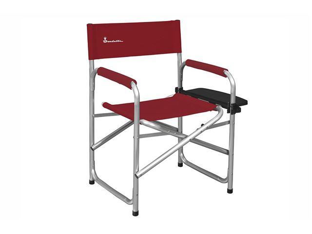 Instruktørstol med sidebord, Red
