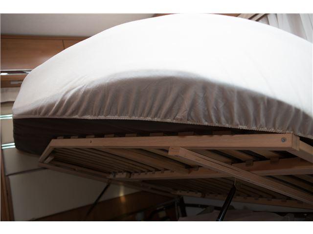 AnnTex lagen t/fransk seng 140 cm. Hvid, venstresving