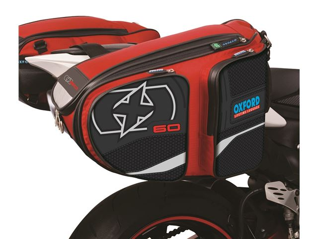 X60 PANNIERS RED