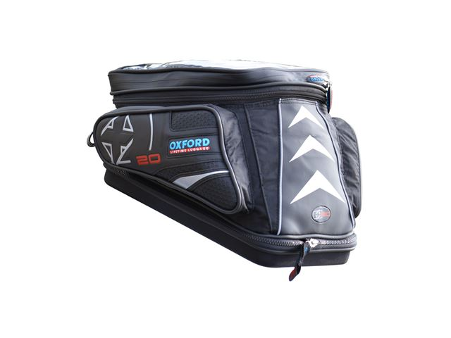 X20 QR ADVENTURE TANK BAG - BLACK