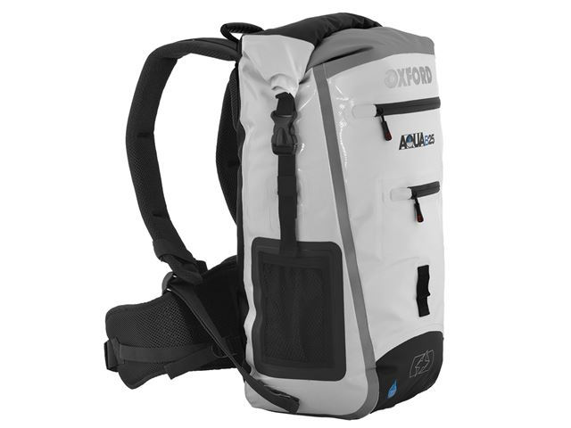 AQUA B-25 BACKPACK - WHITE/GREY