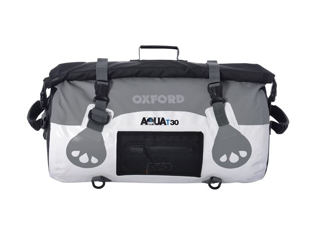 AQUA T-30 ROLL BAG - WHITE/GREY