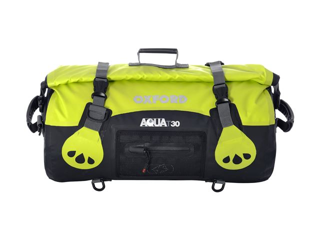 AQUA T-30 ROLL BAG - BLACK/FLUO