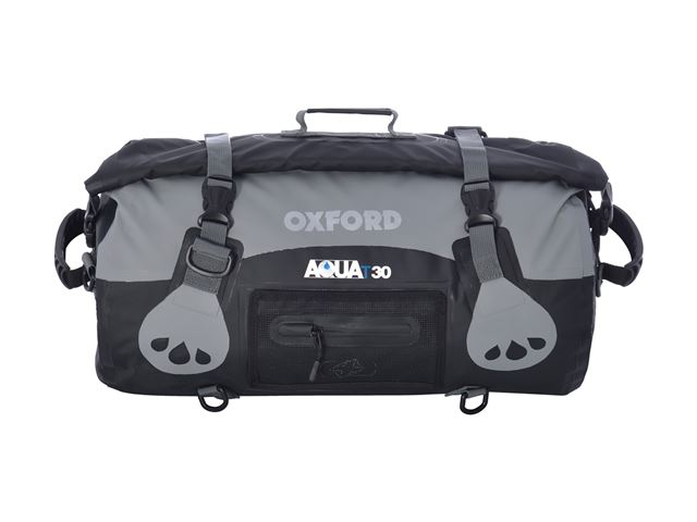 AQUA T-30 ROLL BAG - BLACK/GREY