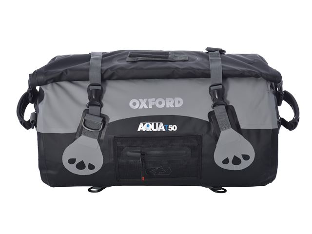 AQUA T-50 ROLL BAG - BLACK/GREY