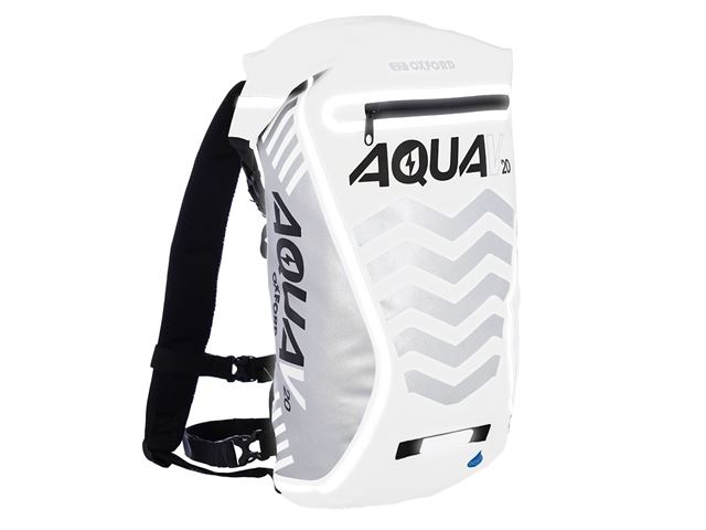 AQUA V 20 BACKPACK - WHITE