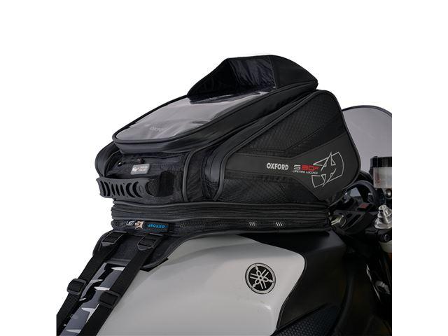 S30R TANK STRAP ON - BLACK