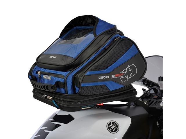 Q30R TANK BAG - BLUE