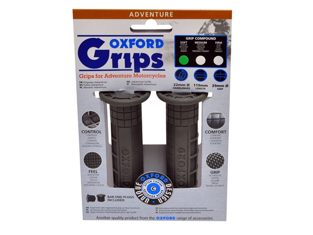 Oxford Adventurer grips(pair) FIRM