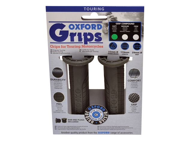 Oxford Touring grips(pair) SOFT