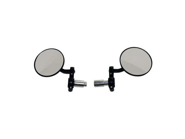 Oxford Bar End Mirrors - Black OX120