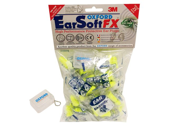 EARSOFT FX earplugs-25 prs SNR39