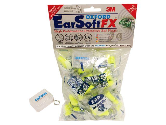 EARSOFT FX earplugs-50 prs SNR39