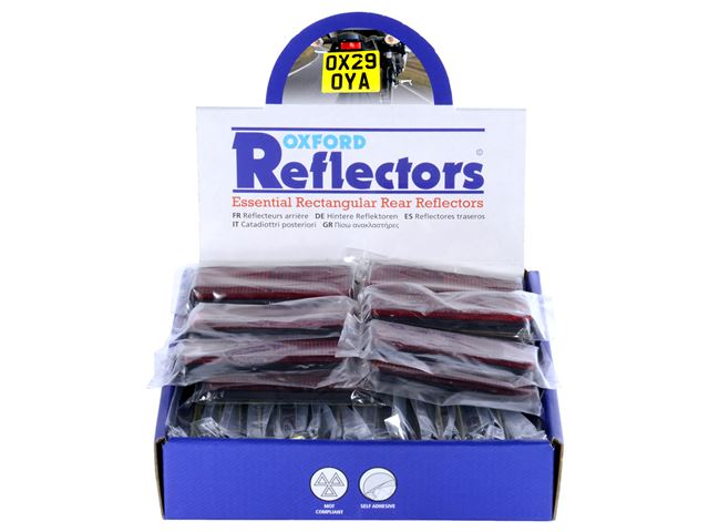 Oxford Rectangular Reflector - Box 50pcs