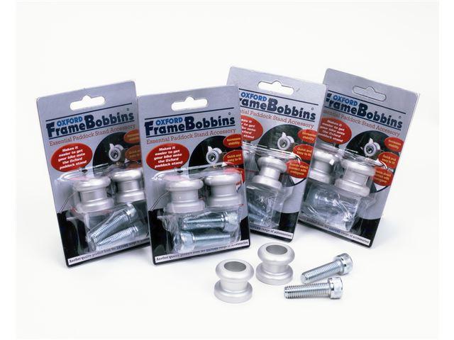 Bobbins M10 (1.25 fine thread) Silver