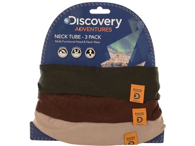 Discovery Adv Neck Tubes Kha/Brwn/Taup 3