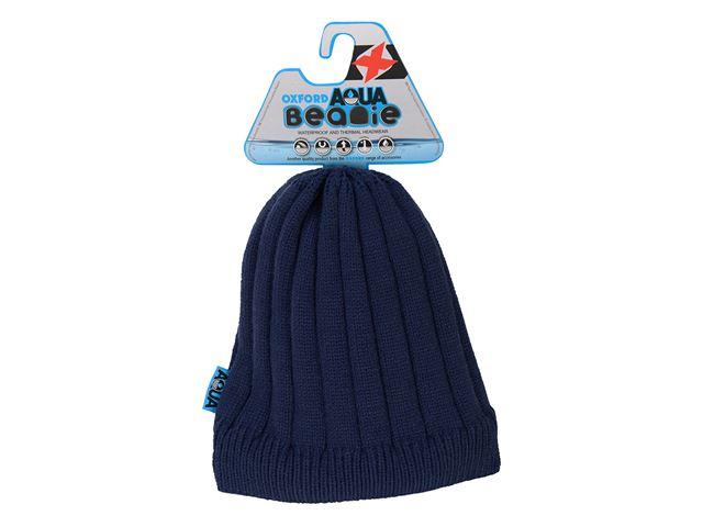 Aqua Beanie Navy